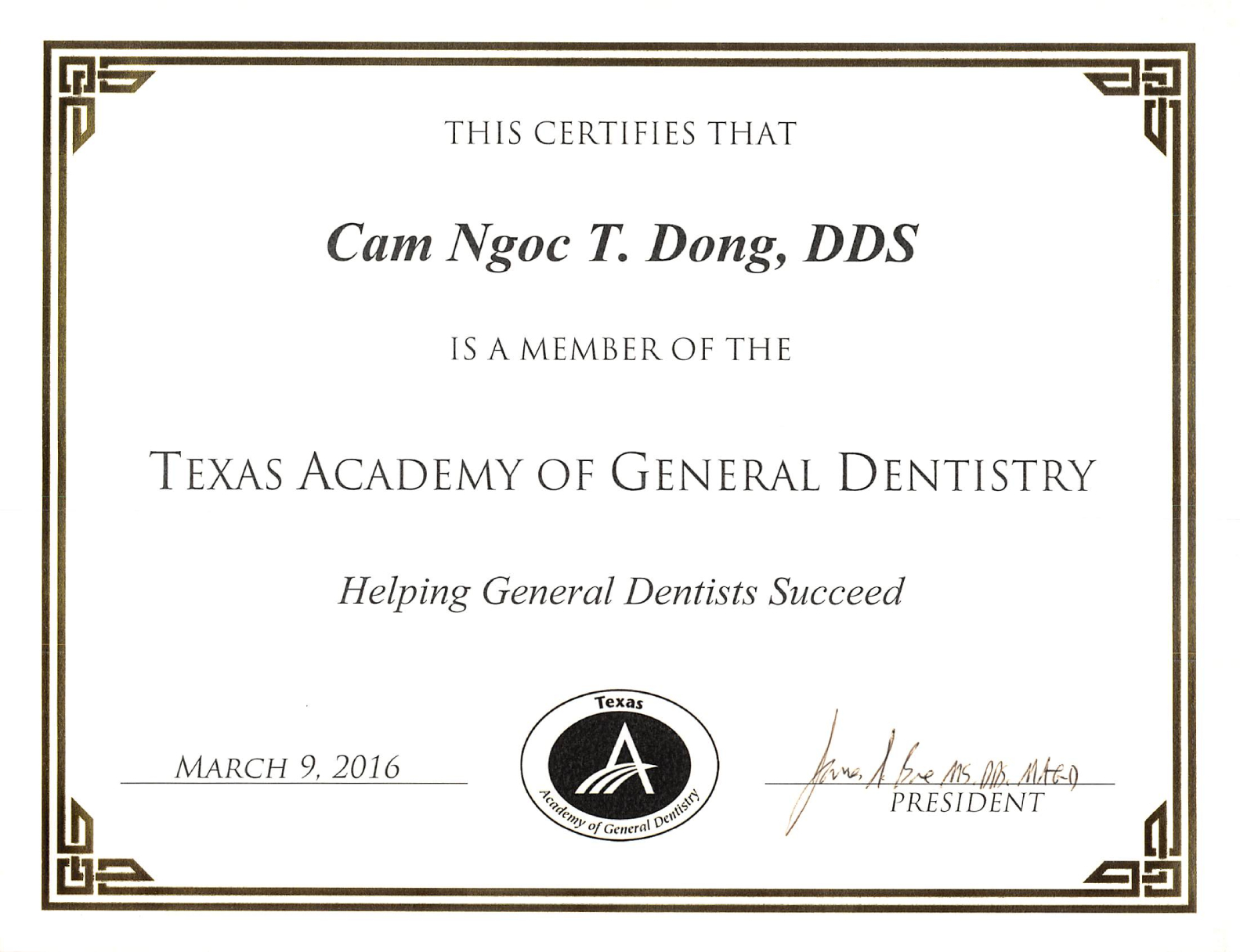 Texas Academy of General Dentistry